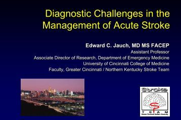 Diagnostic Challenges in the Management of Acute Stroke