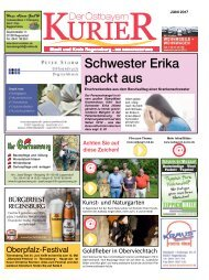Ostbayern-Kurier Juni 2017 (Süd-Ausgabe)