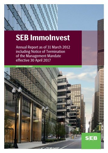 31 March 2012 - SEB Asset Management