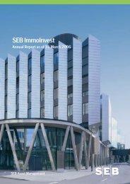 annual report 31 Mar 2006 - SEB Asset Management