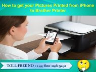 How to get your Pictures Printed from iPhone to Brother Printer