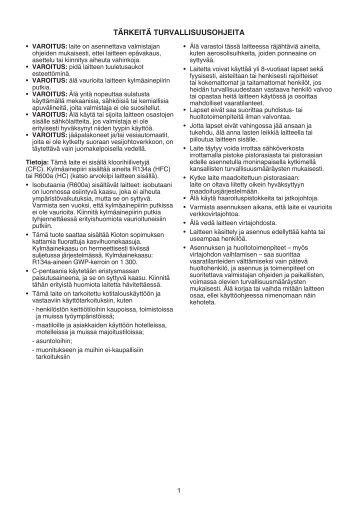 KitchenAid B 18 A2 D/I - B 18 A2 D/I FI (853903701500) Mode d'emploi