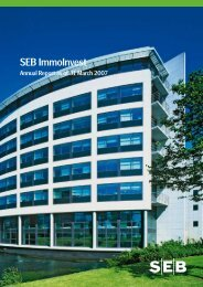 annual report 31 Mar 2007 - SEB Asset Management