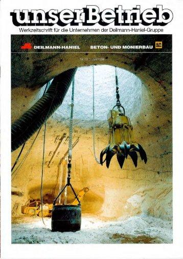 kurznachrichten - Deilmann-Haniel Shaft Sinking