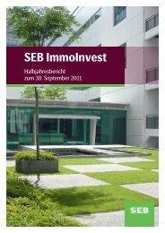 Halbjahresbericht zum 30.09.2011 - SEB Asset Management