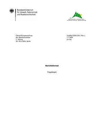 Teil 1: Allgemeiner Teil - Convenzione delle Alpi