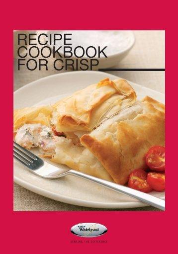 KitchenAid JC 216 WH - JC 216 WH EN (858721699290) Livret de recettes