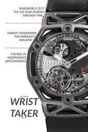 Wrist Taker Magazine 2017 Issue