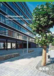 semi-annual report 30 Sep 2007 - SEB Asset Management