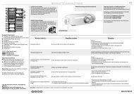 KitchenAid B 18 A1 D S/I - B 18 A1 D S/I NL (853903601510) Guide de consultation rapide