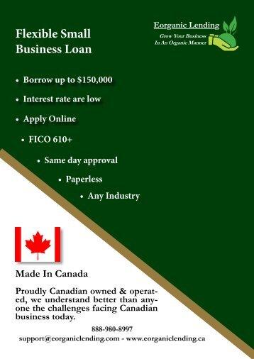 Flexible Small Business Loan