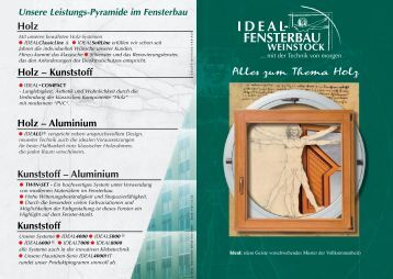 Alles zum Thema Holz Holz Holz – Aluminium Kunststoff ...