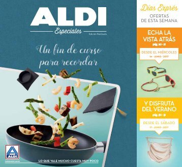 Folleto Aldi del 14 al 21 de Junio 2017