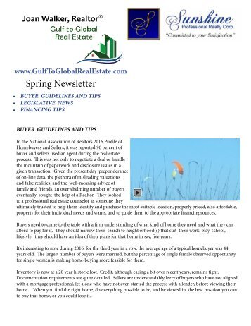 Spring 2017 Newsletter Print version 3 with movie