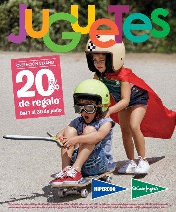 Catálogo El Corte Ingles Juguetes del 1 al 30 de Junio 2017