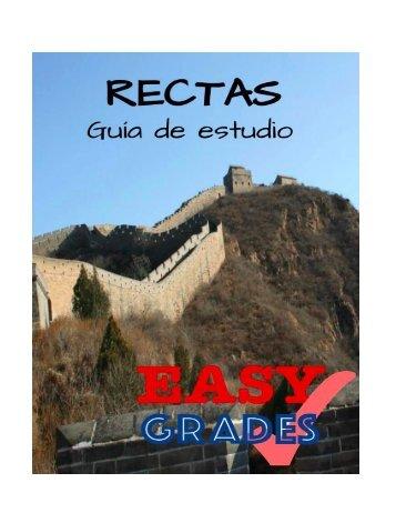 EASY GRADES RECTAS
