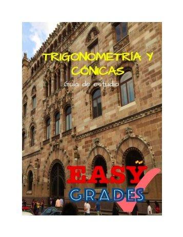 EASY GRADES TRIGO Y CONICAS
