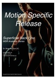 Superficial Back Line