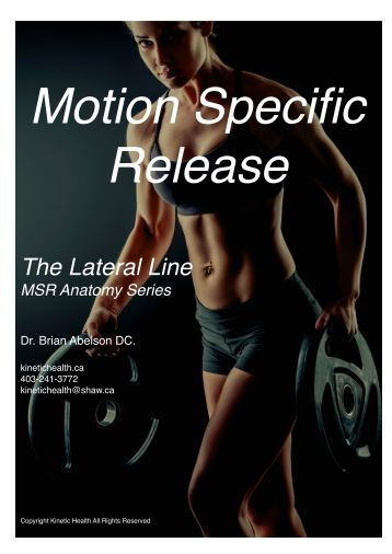 The Lateral Line