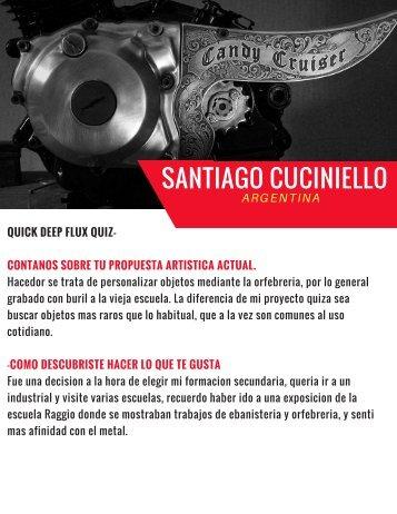 Entrevista a Santiago Cuciniello