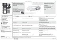 KitchenAid B 18 A1 D S/I - B 18 A1 D S/I HR (F093231) Guide de consultation rapide