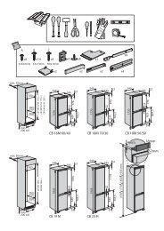 KitchenAid B 18 A1 D V E/I - B 18 A1 D V E/I EN (853903801500) Guide d'installation