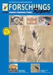 ForschungsReport 1999-2 - BMELV-Forschung