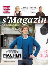 s'Magazin usm Ländle, 11. Juni 2017