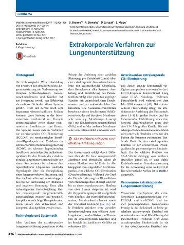 04 Extrakorporale Verfahren zur Lungenunterstützung
