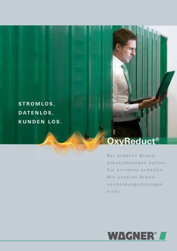 OxyReduct® in EDV-Bereichen