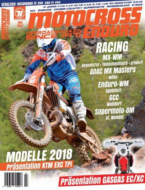Motocross Enduro Ausgabe 07/2017