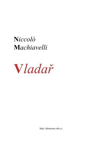Niccoló-Machiavelli---Vladař