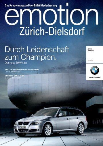 Der neue BMW ,er. - BMW Niederlassung Zürich-Dielsdorf