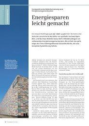 Energiesparen leicht gemacht - Siemens
