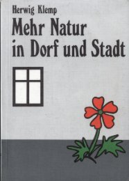 Mehr Natur in Dorf und Stadt - Isebek-Initiative