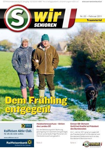 Termine: 02. – 09. Mai 2011 09. – 16. Mai 2011 - OÖ Seniorenbund