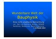 Wunderbare Welt der Bauphysik - Download - DIMaGB.de