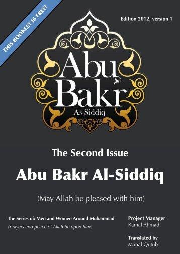Abu Bakr As Seddeeq