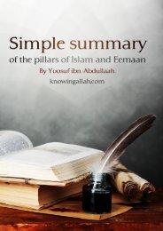 Simple_Summary_of_the_Pillars_Islam_and_Eemaan