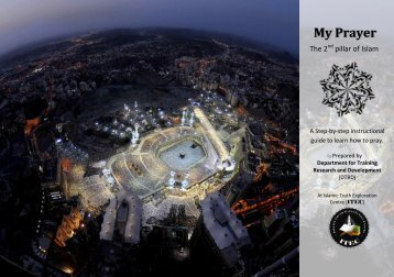 My Prayer the 2nd Pillar of Islam