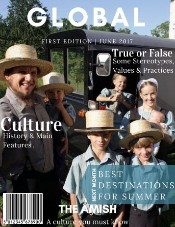 Global Magazine - The Amish
