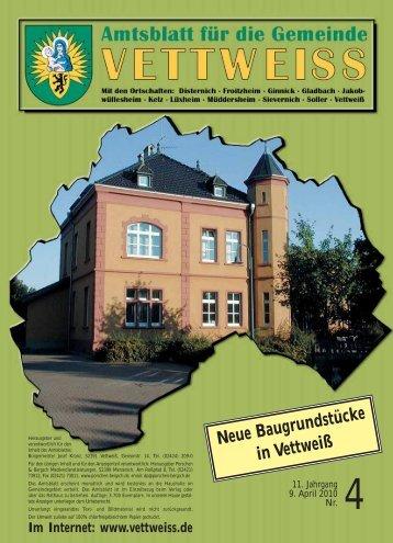 April 2010 - Gemeinde Vettweiss