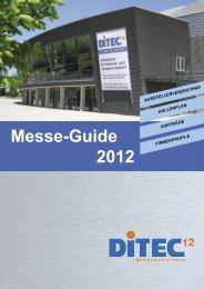 Messe-Guide 2012 - Werner Ditzinger GmbH