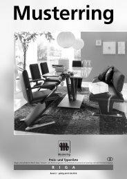 RIGA Musterring - Möbel Rulfs