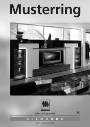 BELMONDO Musterring - Möbel Rulfs