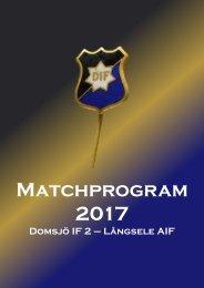 Matchprogram_2017_LAIF