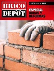 Catálogo BRICO DEPOT Obras y Reformas desde 9 de Junio al 13 de Julio 2017