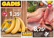 Folleto Supermercados Gadis hasta 14 de Junio 2017 Galicia