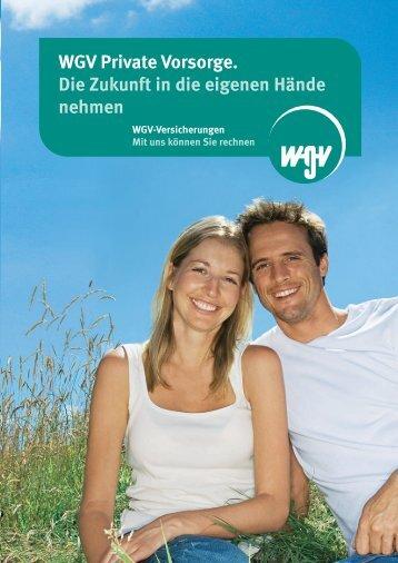 WGV Private Renten - wgv Versicherungen
