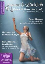 Magazin für Körper, Geist & Seele - gesund & glücklich
